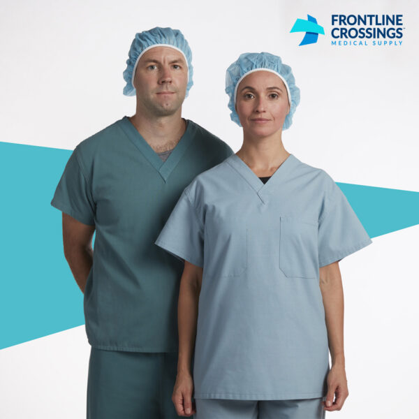 man and woman wearing head covering